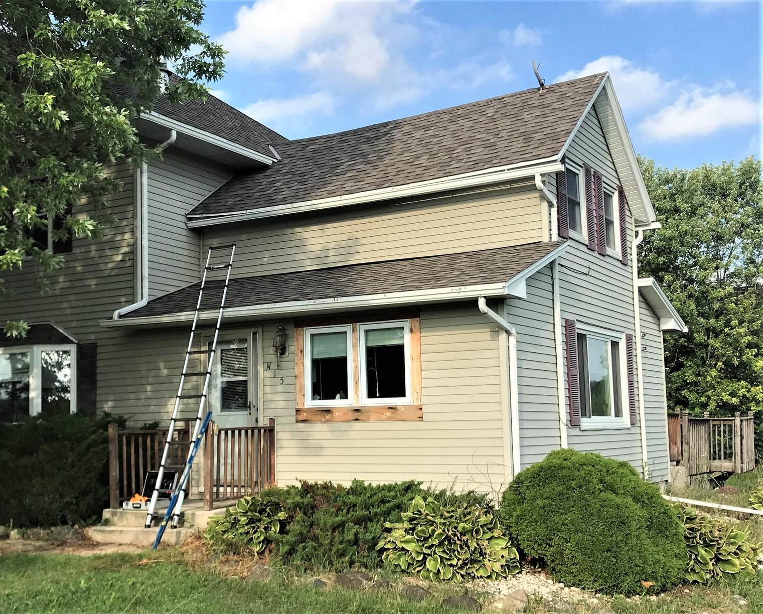 Kathleen's LeafGuard Project - Before Photo