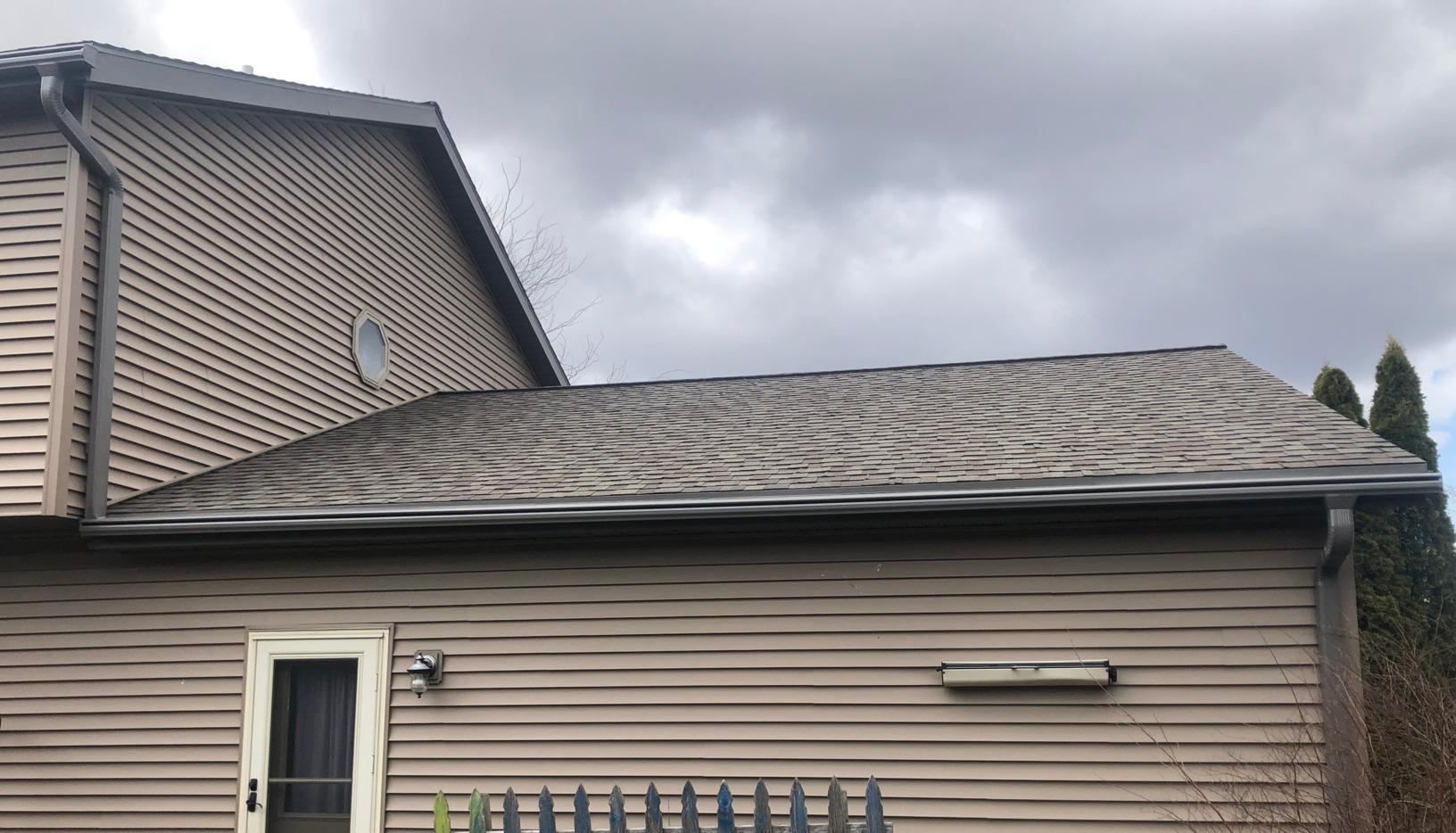 Tom's LeafGuard Gutter Project - After Photo