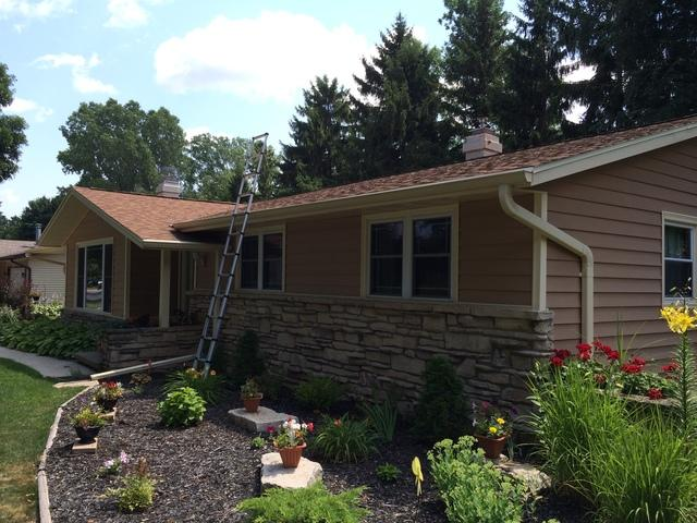 LeafGuard Gutters Installed in Green Bay, WI