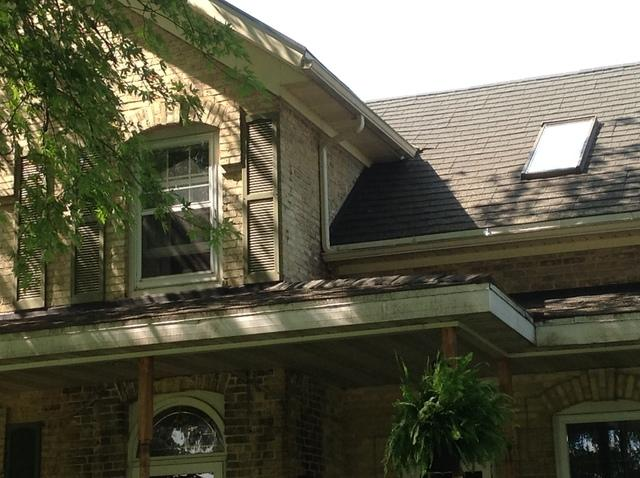 Gutters and LeafGuard Installed in Luxemburg, WI