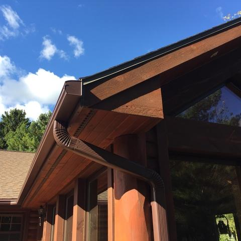 LeafGuard Gutter system installed in Oneida