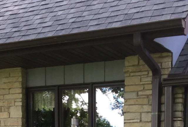 Leafguard gutters Installed in Hortonville