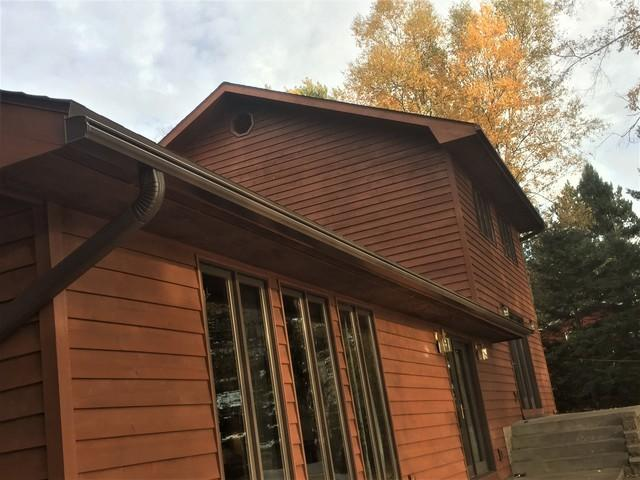 LeafGuard Gutters Installed in Eagle River