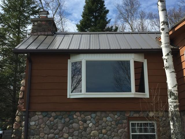 LeafGuard Gutters Installed in Minocqua