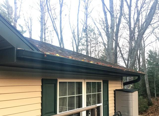 LeafGuard Gutters Installed in Three Lakes
