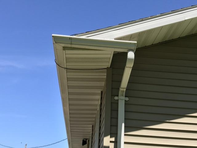 LeafGuard Gutters Installed in Greenleaf, WI