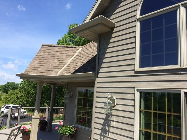 LeafGuard Gutters Installed in Ephraim, Wisconsin