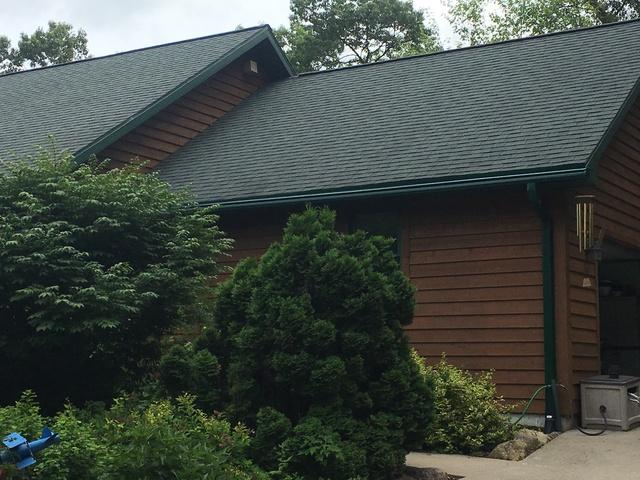 LeafGuard Gutters Installed in Pine River, Wisconsin