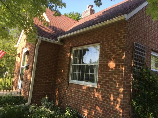 LeafGuard Gutters Installed on a home in Fond du Lac, WI