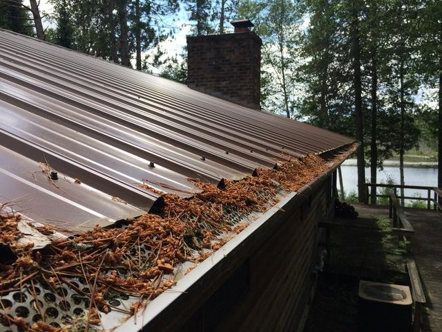 LeafGuard Gutters Installed in Amberg, WI
