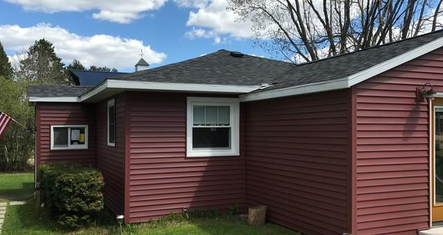 Gutter Installation on Townsend, WI Home