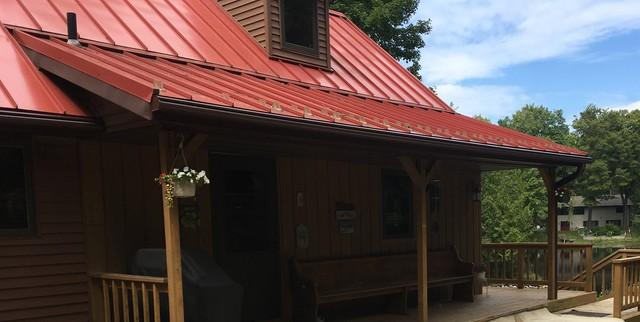 LeafGuard Gutters Protects Home in Townsend, WI