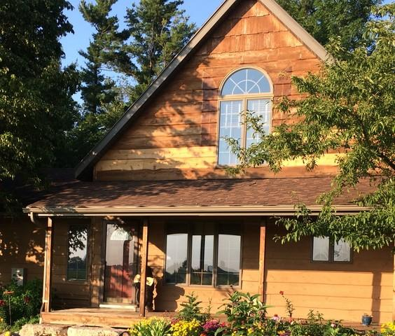 Replace Open Style Gutters with LeafGuard in Larsen, WI