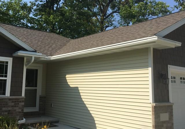 Replacing Failing Gutter Covers with LeafGuard Gutters in Menasha