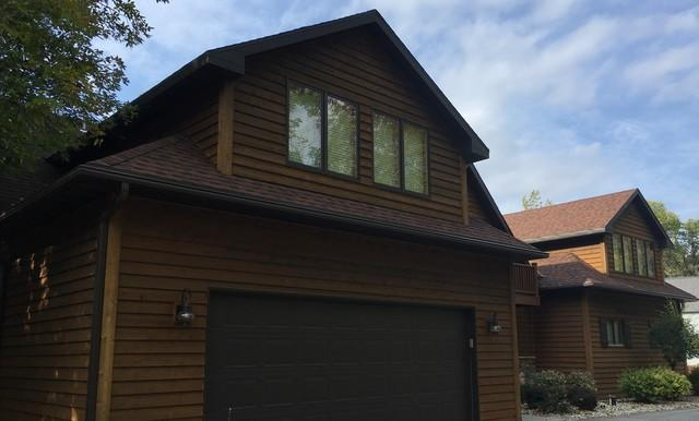 Remove Open Style Gutters and Replace with LeafGuard in Sturgeon Bay, WI