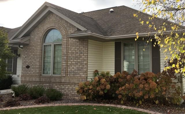 Two Tone LeafGuard a Great Look for this Home in Sheboygan Falls, WI