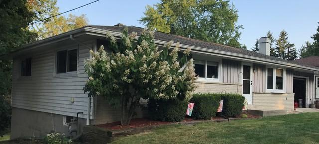 LeafGuard Gutters Installed on a Ranch Home in Random Lake, WI - Before Photo