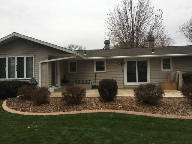 One-Piece LeafGuard Gutters installed on a Home in Green Bay, WI
