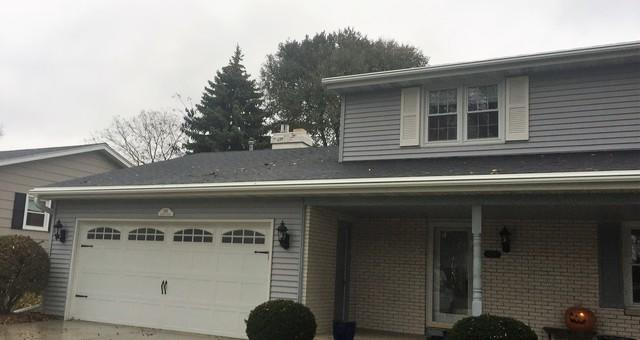 Never Clog LeafGuard Gutters Installed on a Home in Green Bay, WI