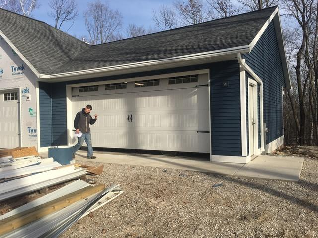 New Construction Home in Bailey's Harbor, WI Chooses LeafGuard Gutters