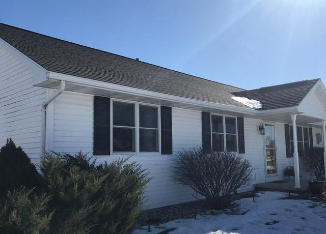 LeafGuard Gutters Installed on a Ranch Style Home in Appleton, WI