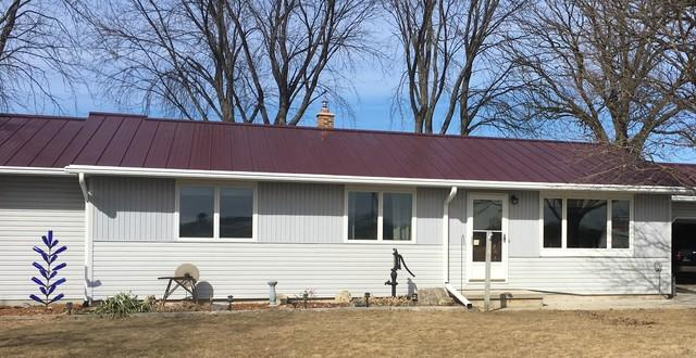 LeafGuard Gutters are the Best Choice on a Home with a Metal Roof in Rosendale, WI
