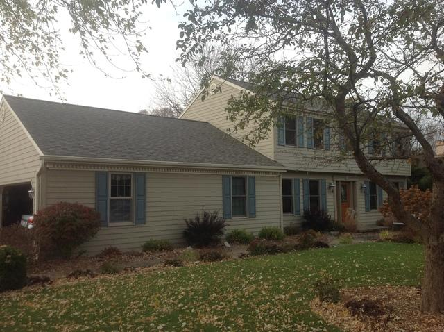 Homeowner in Green Bay Chooses a Master Elite GAF Asphalt Shingle Roof - Before Photo