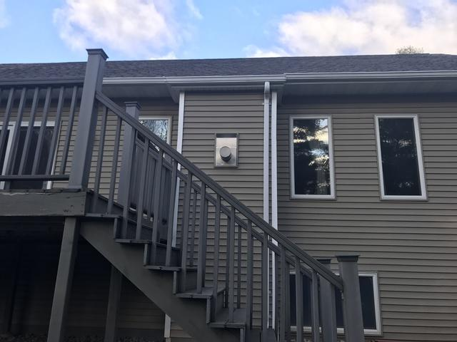 Home in Shawano with Difficult to Reach Gutters Choose LeafGuard