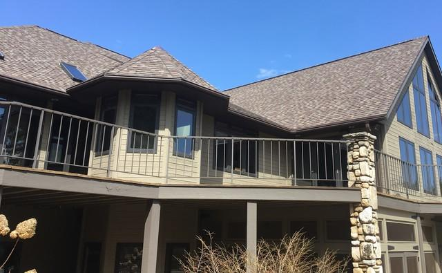 LeafGuard Gutters Installed on a Door County Home in Ephraim, WI