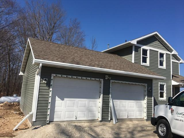 LeafGuard Gutters are the Best Choice for a Lake Home in Fish Creek, WI