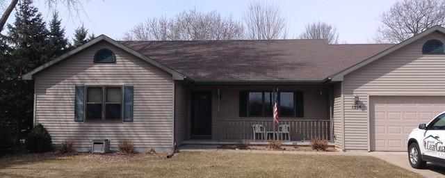 LeafGuard Gutters Installed on a Ranch in Neenah, WI