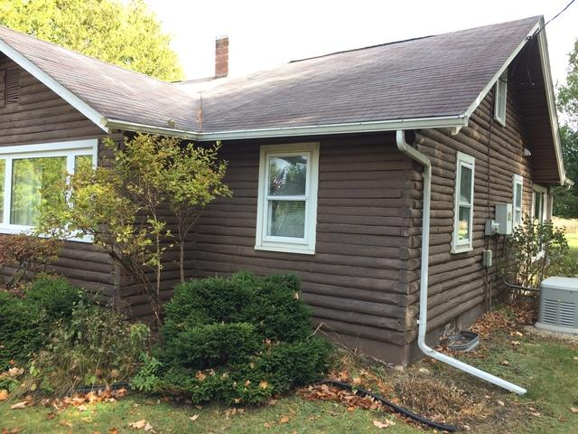 LeafGuard gutters installed on a Door County Washington Island Cottage