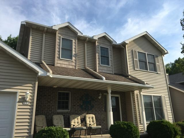 LeafGuard Gutters - Color Wicker - Installed on a Two Story Home in Oshkosh, WI