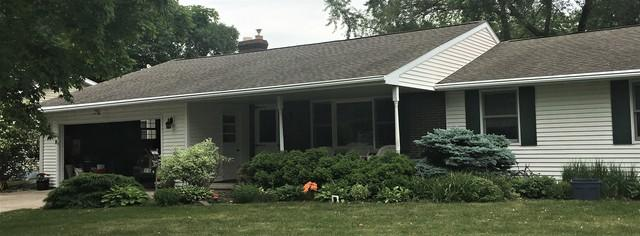 Replacing Open Style Gutters with LeafGuard in Green Bay, WI