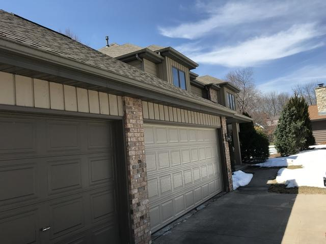 Terratone LeafGuard Gutters Installed on a Two Story Home in Neenah, WI