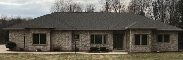 LeafGuard Gutters - Color Clay - Installed on a Home in Edgar, WI
