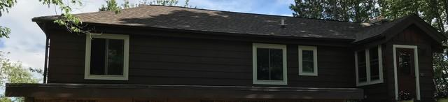 LeafGuard Gutters Installed on Lake Home in Rhinelander