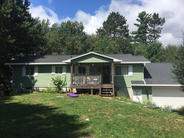 LeafGuard gutters installed on home in Rhinelander, Wisconsin
