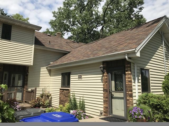 LeafGuard gutters installed on home in Kaukauna,Wisconsin.