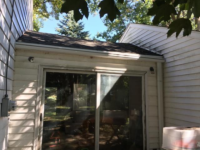LeafGuards gutters installed in Appleton, Wisconsin