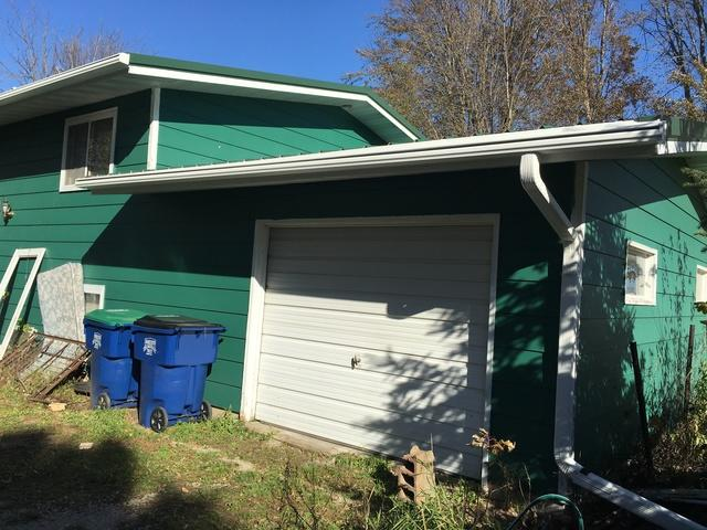 LeafGuard gutters installed on home in Seymour, Wisconsin