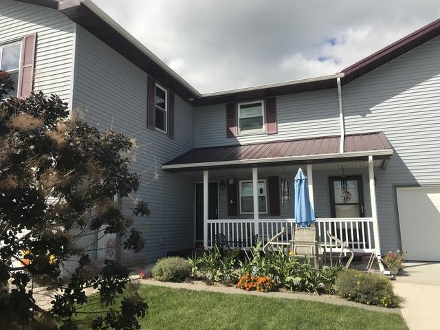 LeafGuard gutters installed on home in Manitowoc, Wisconsin