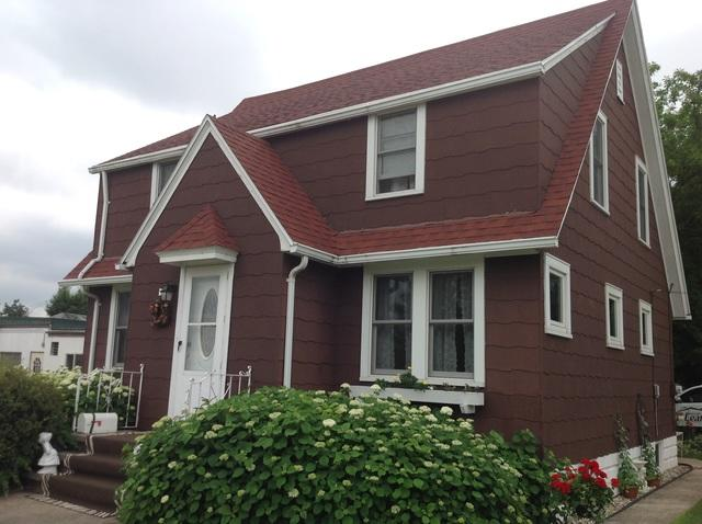 LeafGuard gutters installed on home in Kimberly, Wisconsin