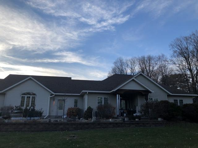 LeafGuard gutters installed on home in Merrill, Wisconsin