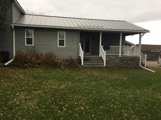 LeafGuard gutters installed on home in Weyauwega, Wisconsin