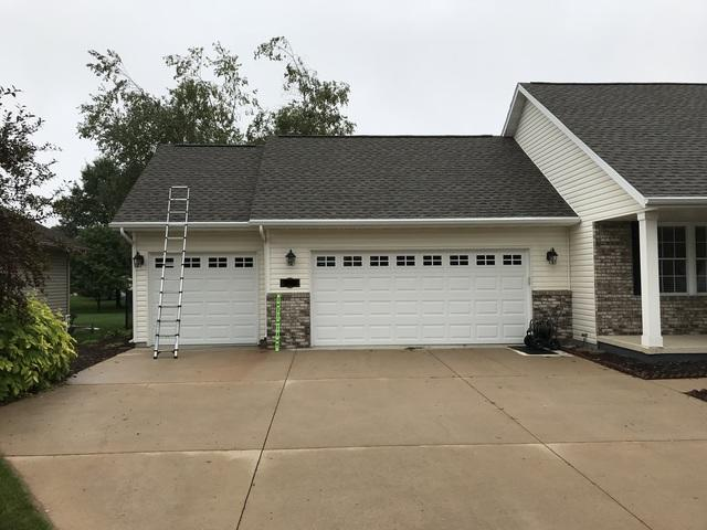 LeafGuard gutters installed on home in Plover, Wisconsin