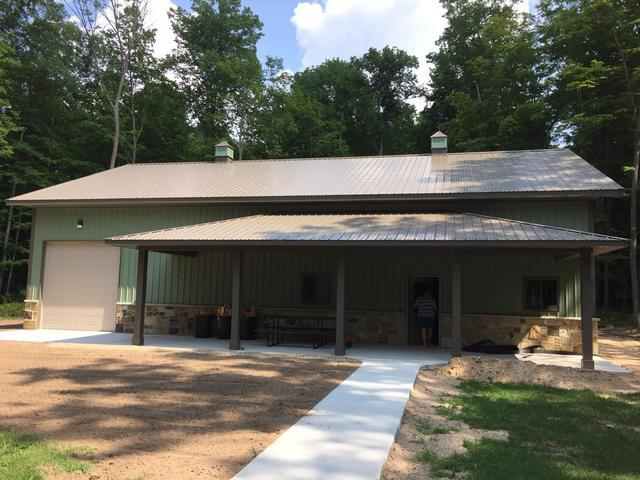 LeafGuard gutters installed on home in Iola, Wisconsin