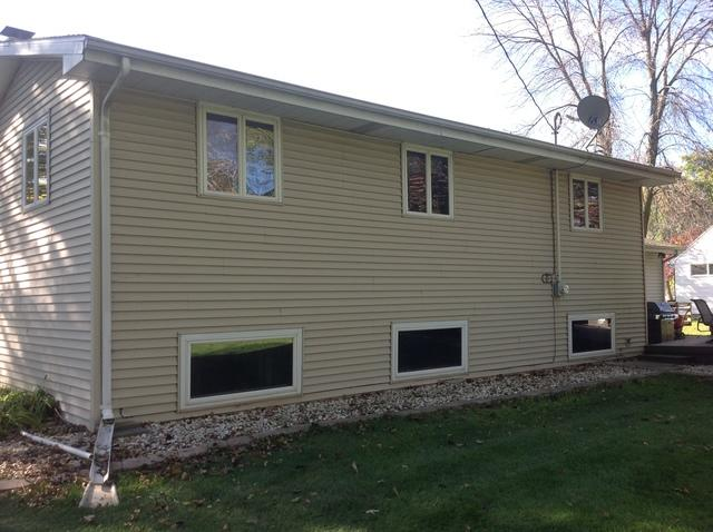 LeafGuard gutters installed on home in Neenah, Wisconsin
