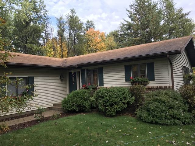 LeafGuard gutters installed on home in Steven's Point, Wisconsin