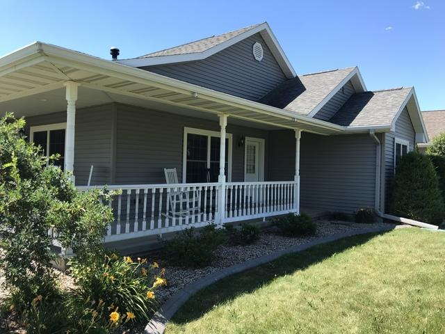 LeafGuard gutters installed on home in Winneconne, Wisconsin